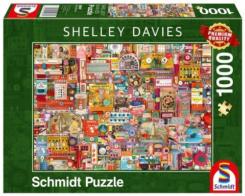 PQ Puzzle 1000 el. SHELLEY DAVIES Akcesoria do szycia